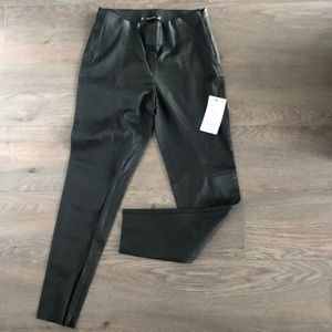 NWT - Zara Basic Faux Leather Leggings